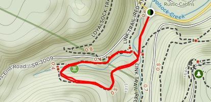 Double Run Nature Trail Map
