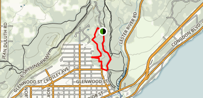 lester hawk ridge map