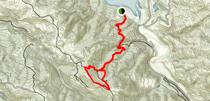 Ohlone Wilderness Trail - Del Valle Map