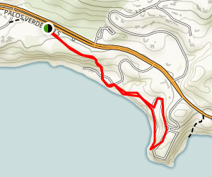 Abalone Cove Trail Map