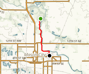 Lime Creek Park East Trail Map