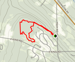Eldridge Wilderness Trails Map