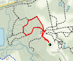 Kortright Centre Trail  Map