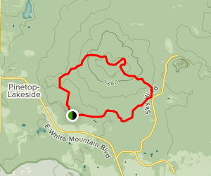Blue Ridge Mountain Loop Trail Map
