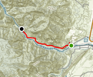 Tunnel Drive Trail Map