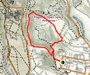 Lookout Loop Trail Map