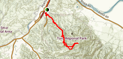 River Road Trail Map