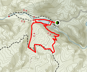 Pine Valley Ranch Park: Pine Valley Ranch Loop Trail Map