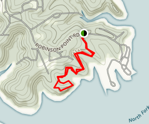 Robinson Point Trail Map
