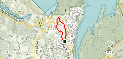 Lake Oroville State Recreation Area: Loafer Creek, Roy Rogers Trail Map