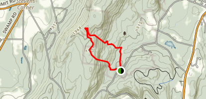 Pleasant Valley Sanctuary Trail Map