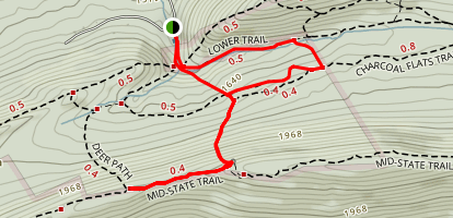 Dear Path-MST-Roman Tower Trail Map