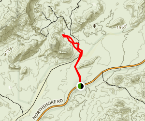 Cottonwood Spring Trail Map