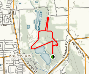 Englewood Metro - Green Trail Map