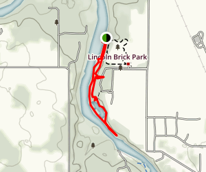 Deer Run and Tallman Trails Map
