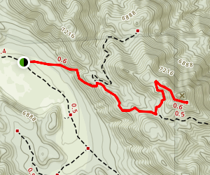 Tip Top Mountain Map