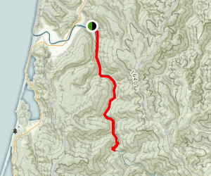 Redwood Creek Trail Map