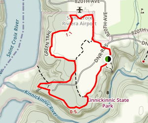 Kinnickinnic State Park Trail Map