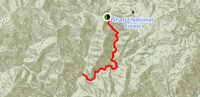 Squaw Valley Creek Trail Map