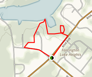 Farrington Lake Trail Map