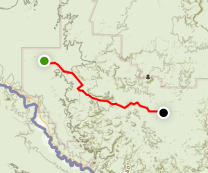 Big Bend Ranch State Park Trail Map