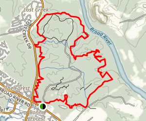 Harbison Loop Trail Map