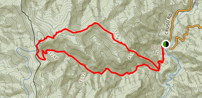 Shining Rock Wilderness Trail Map