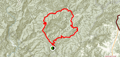 Spruce Mountain Loop Trail Map
