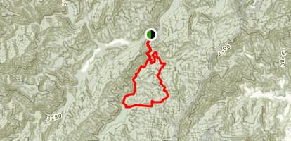 The Boogerman Trail Map
