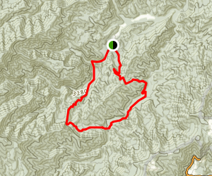 Big Fork Ridge Loop Trail Map