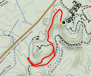 Carolina Mountain Trail Map
