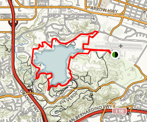 Bonelli Park Trail Map
