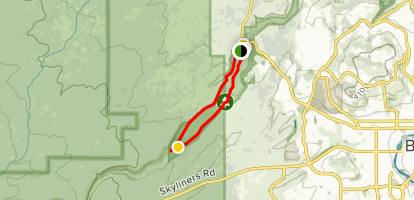 Shevlin Park Loop Trail Map