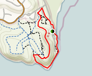 Benicia State Recreation Area Marsh Loop Trail Map
