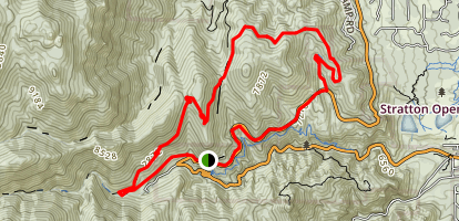 Buckhorn Loop (Captain Jack's Frontside) Trail Map