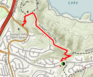 Sunset Hills Trail Map