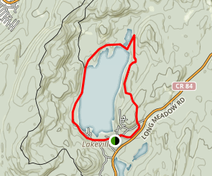 Sterling Lake Loop Trail Map
