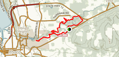 Cayuga Trail Map