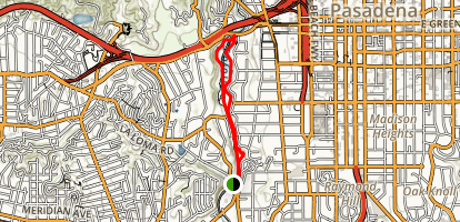 Arroyo Seco Trail Map