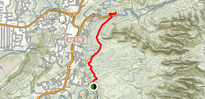 Margs Draw Trail Map