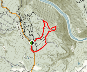 Snake Hill Trail Map