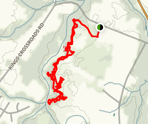 Bicycle Post Trail Map