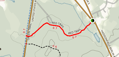 Blueberry Hill Trail Map