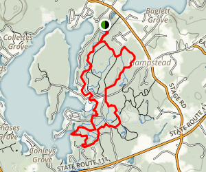 Main Street Trail Map