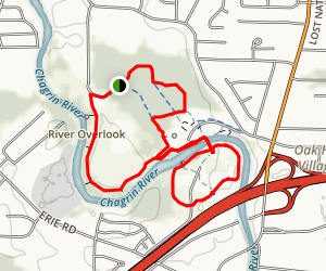 Chagrin River Park Trail Map