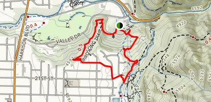 Birdsong Trail Map