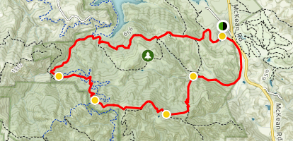 Figueroa and Cottle Loop Trail Map