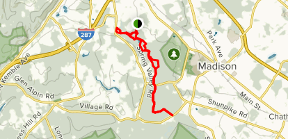 Loantaka Brook Reservation Trail Map
