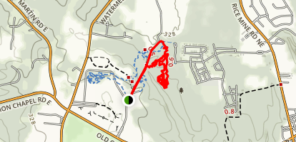 Munny Sokol Park Trail Map