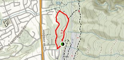 Kaysville East Mountain Wilderness Park Trail Map